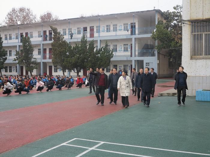 副市长刘庆芳到我校进行工作调研